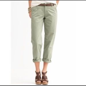 Banana Republic boyfriend chino